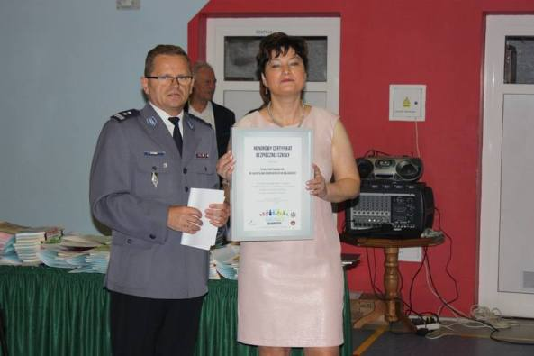 Certyfikat Bezpiecznej Szkoły