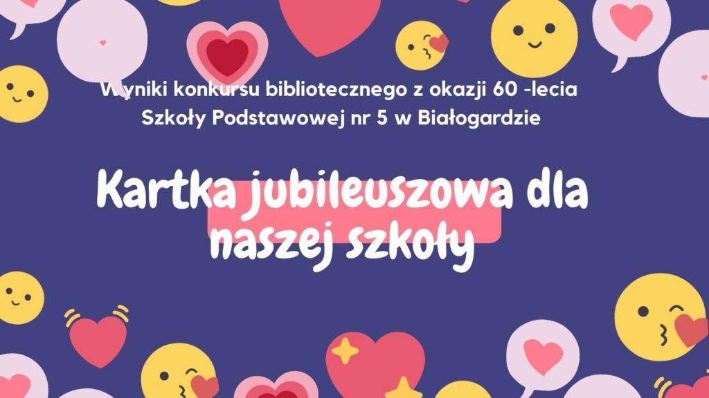 Kartka jubileuszowa
